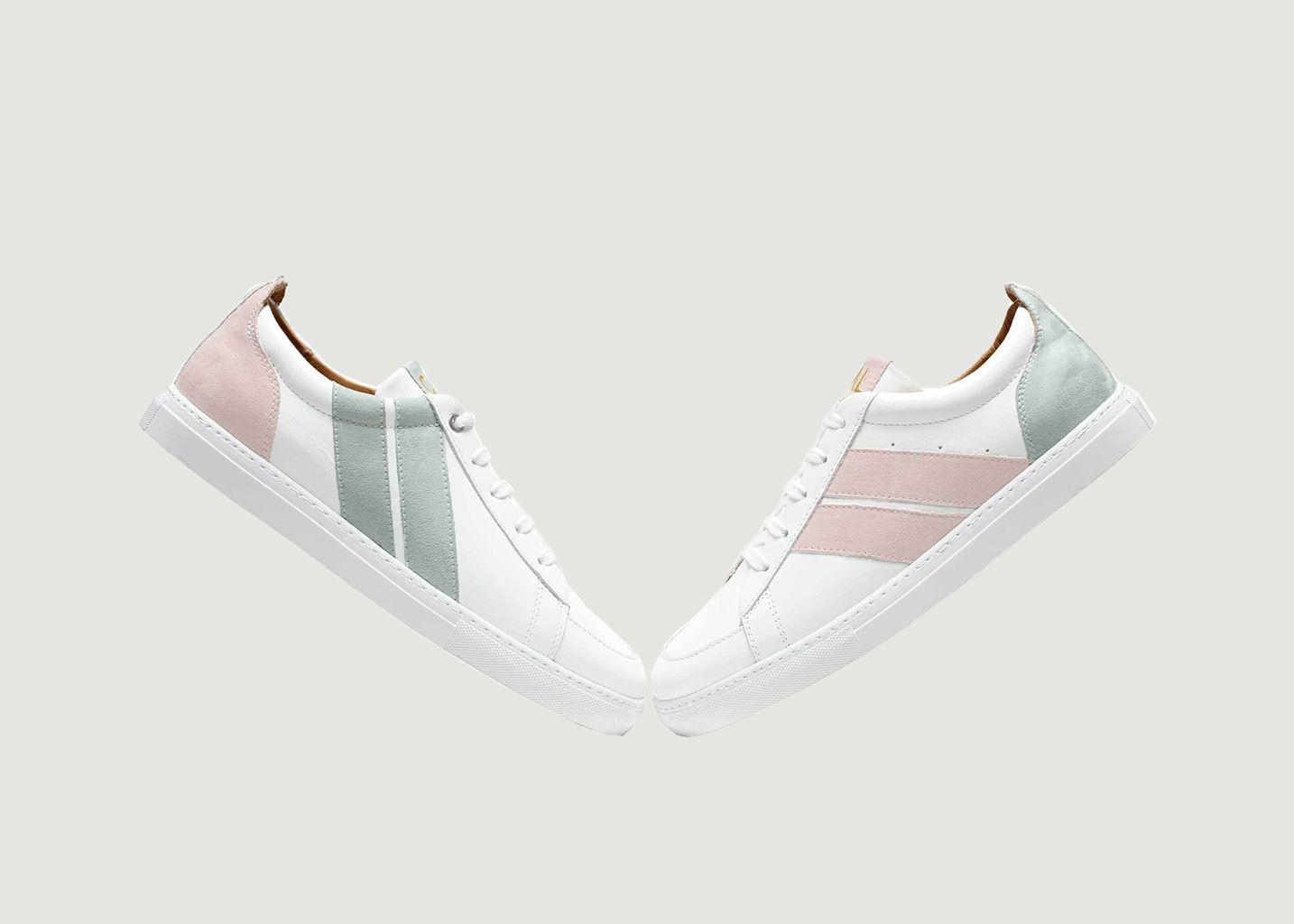 Sneakers Pastel Flamingo - Caval