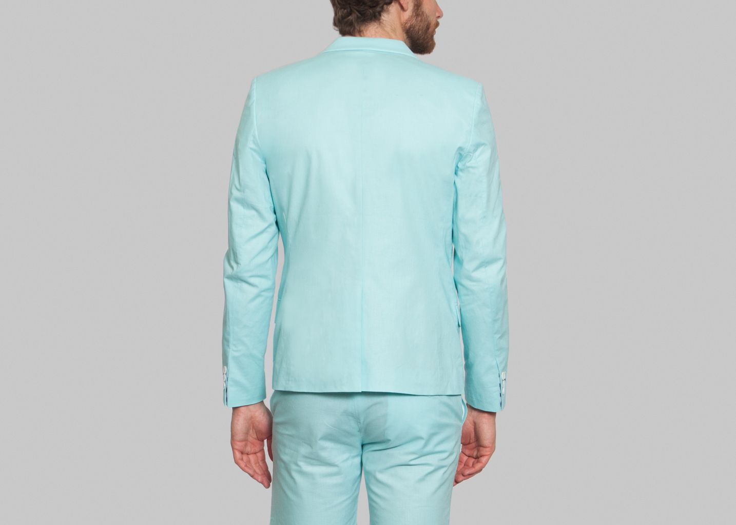Blazer Palmier - Cavalier Bleu