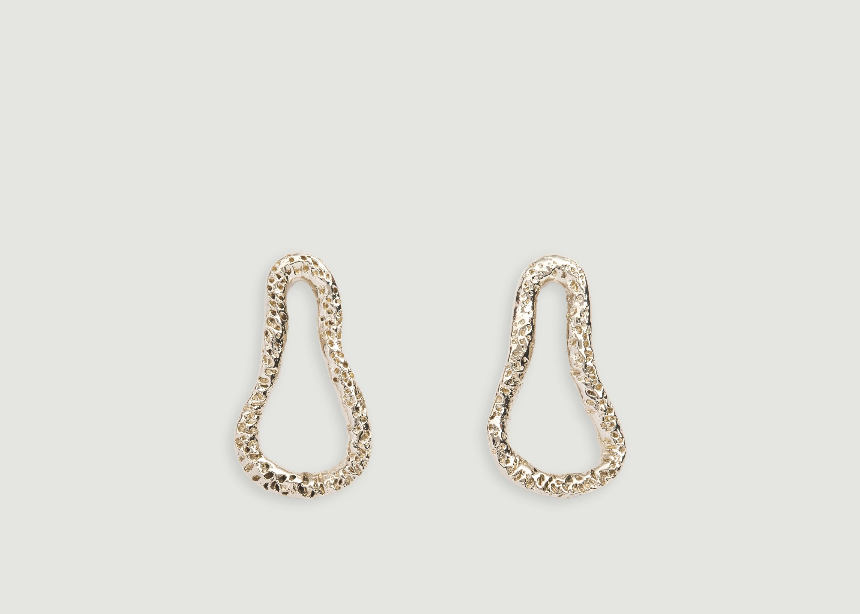 1004f90b5 Nostalgia Earrings Gold Céline Lareynie | L'Exception