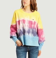 Sweat Oversize Classic Tie-Dyed