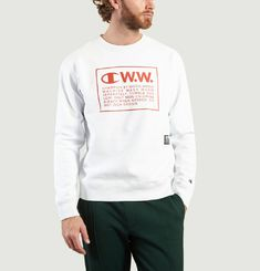 Sweatshirt Reverse Weave « Mike » Champion X Wood Wood