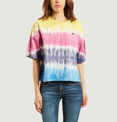 Classic Oversized Tie-Dyed T-Shirt