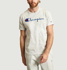 T-Shirt Gros Logo En Coton