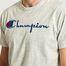 matière T-Shirt Gros Logo En Coton - Champion