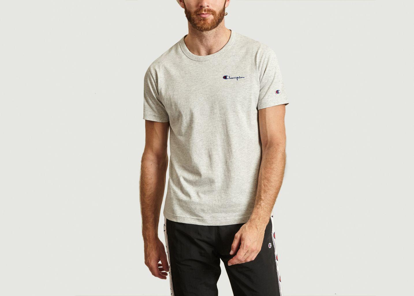 T-Shirt Petit Logo En Coton - Champion