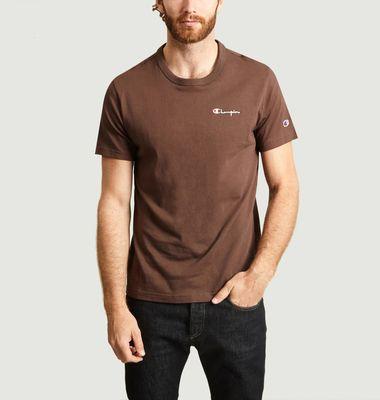 T-Shirt Petit Logo En Coton