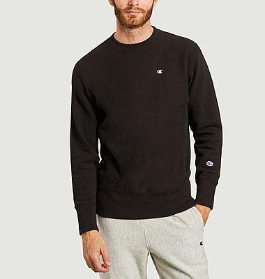 Sweatshirt à double logo brodé