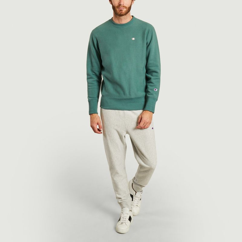 Sweatshirt à double logo brodé - Champion