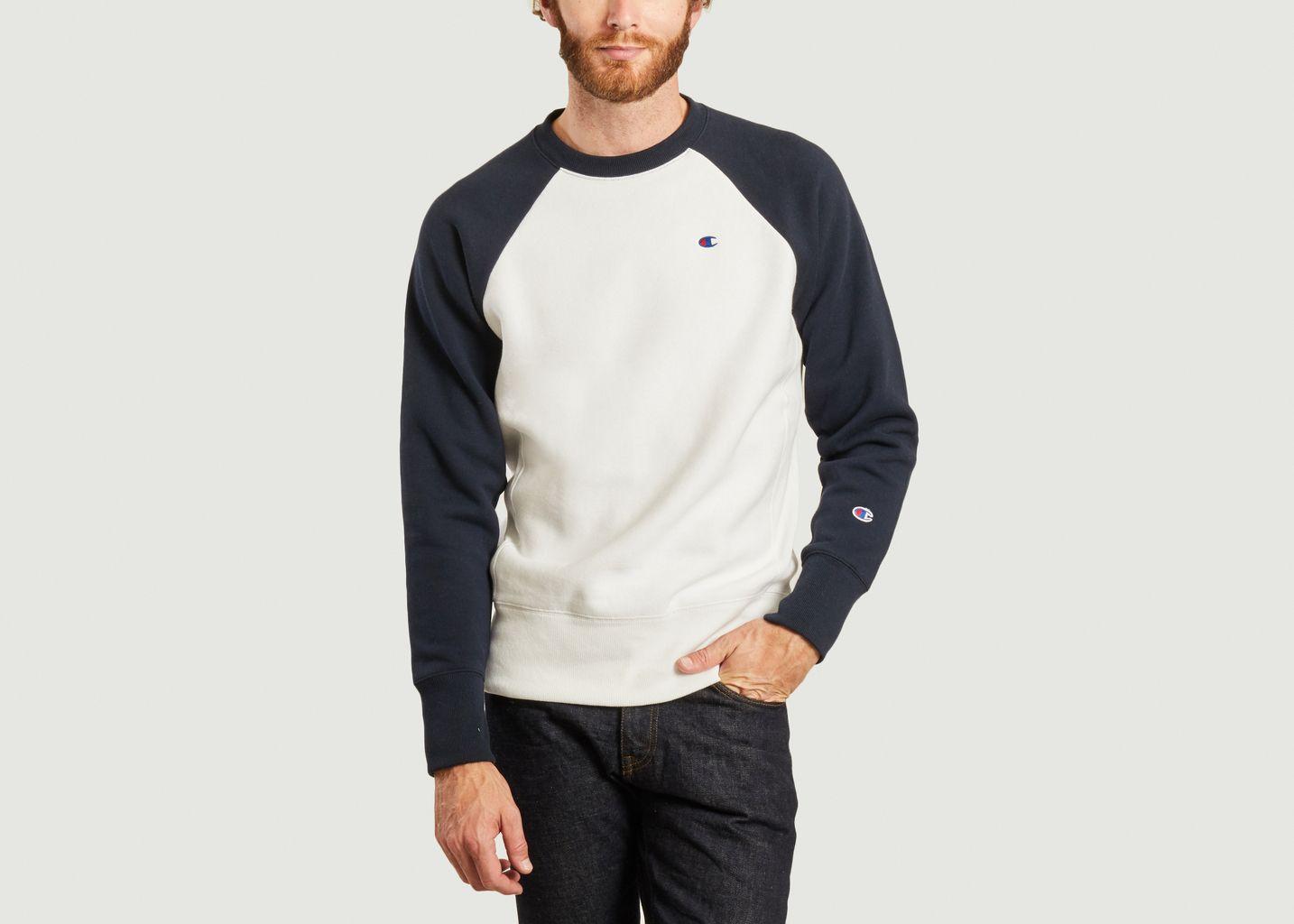 Sweatshirt bicolore manches raglan - Champion