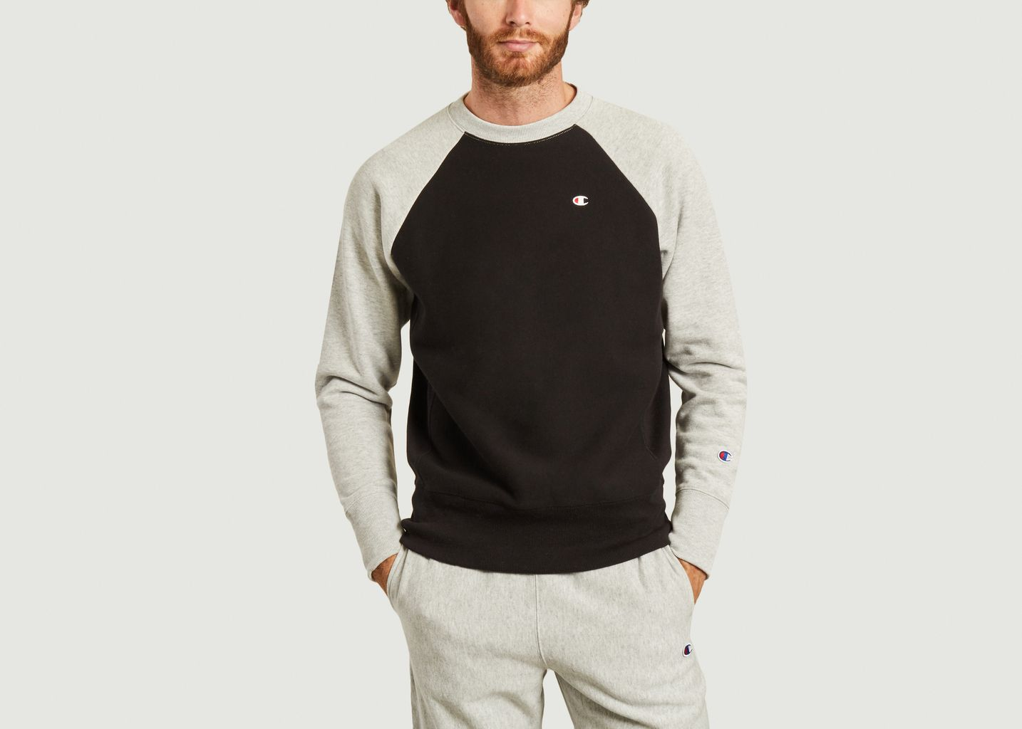 Sweatshirt bicolore siglé - Champion