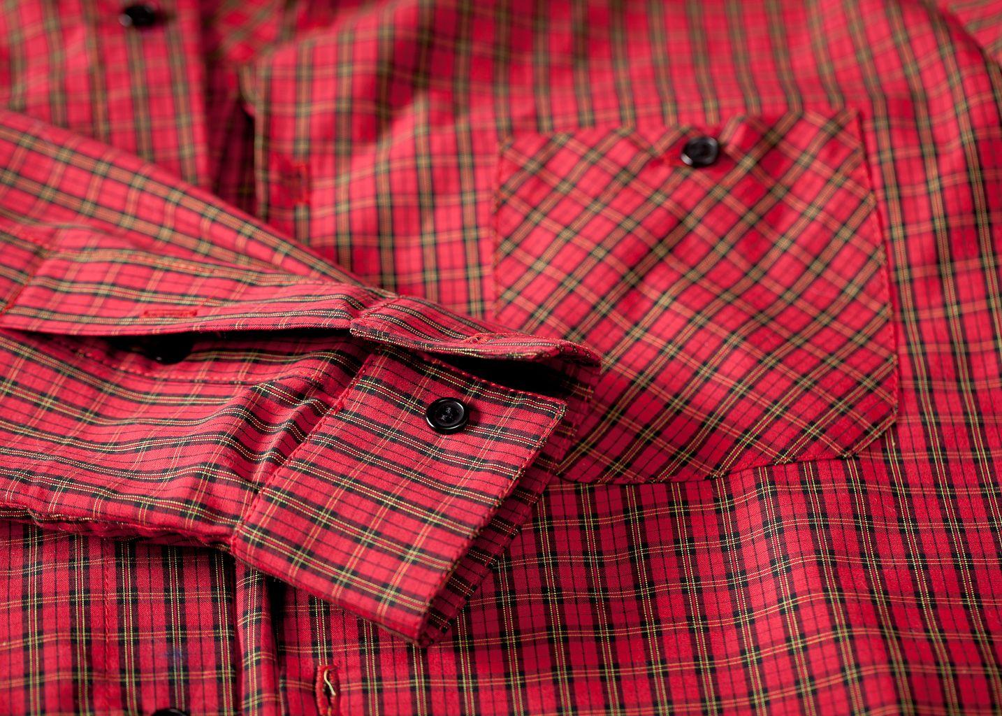 Chemise à carreaux - Les Chats Perchés