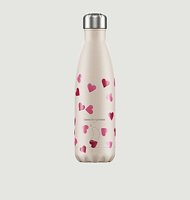 Reusable 500ml Pink Hearts bottle