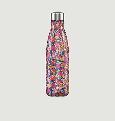 Reusable Bottle 500ml Floral Wild Roses