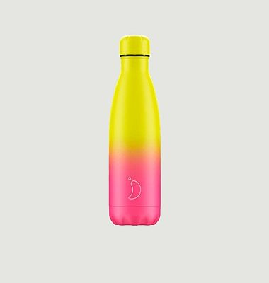 Reusable 500ml Gradient Pastel Pink Bottle