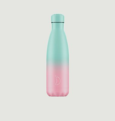 Reusable bottle 500ml Pink / Turquoise gradation