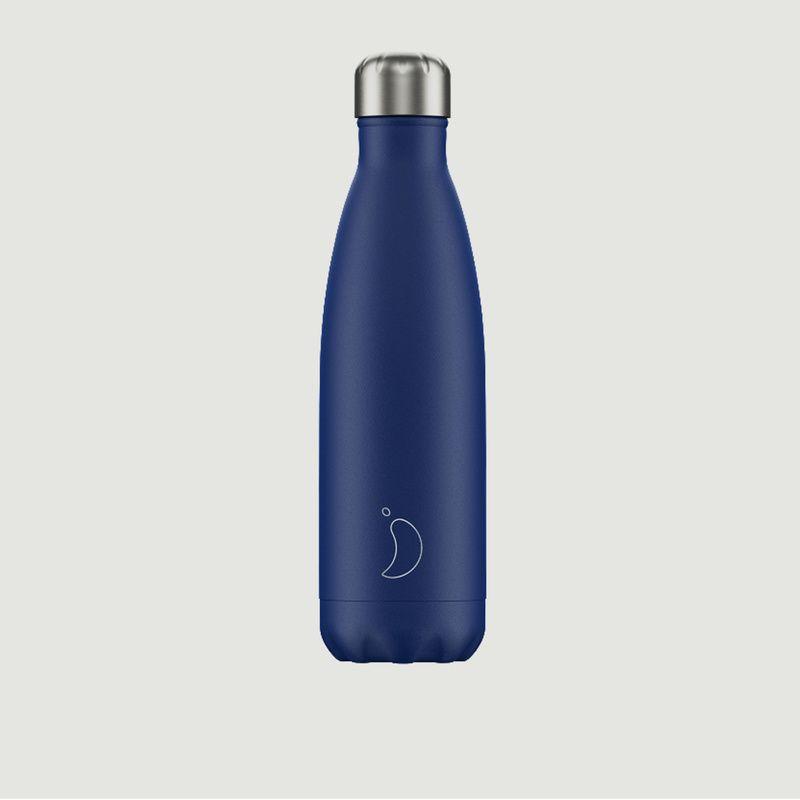 Bouteille Réutilisable 500ml Matte Bleu - Chilly's