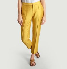 Priscille Cropped Trousers