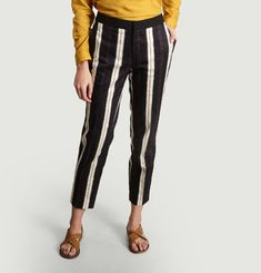 Priscilla Striped Trousers