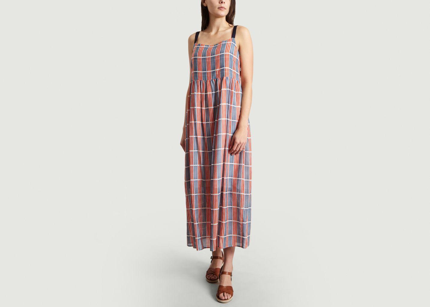 dernier style de 2019 grand choix de fabrication habile Robe Longue A Carreaux Renata