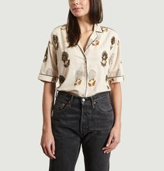 Claire Embroidered Shirt