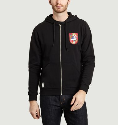 Hoodie Patché Trailing