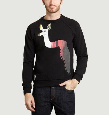 Sweatshirt Mixte Jardin Secret