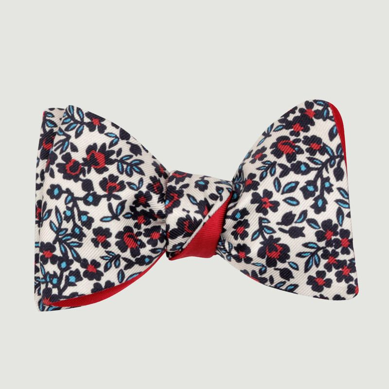Noeud papillon Liberty - Cinabre