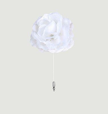 Boutonnière Rose soie