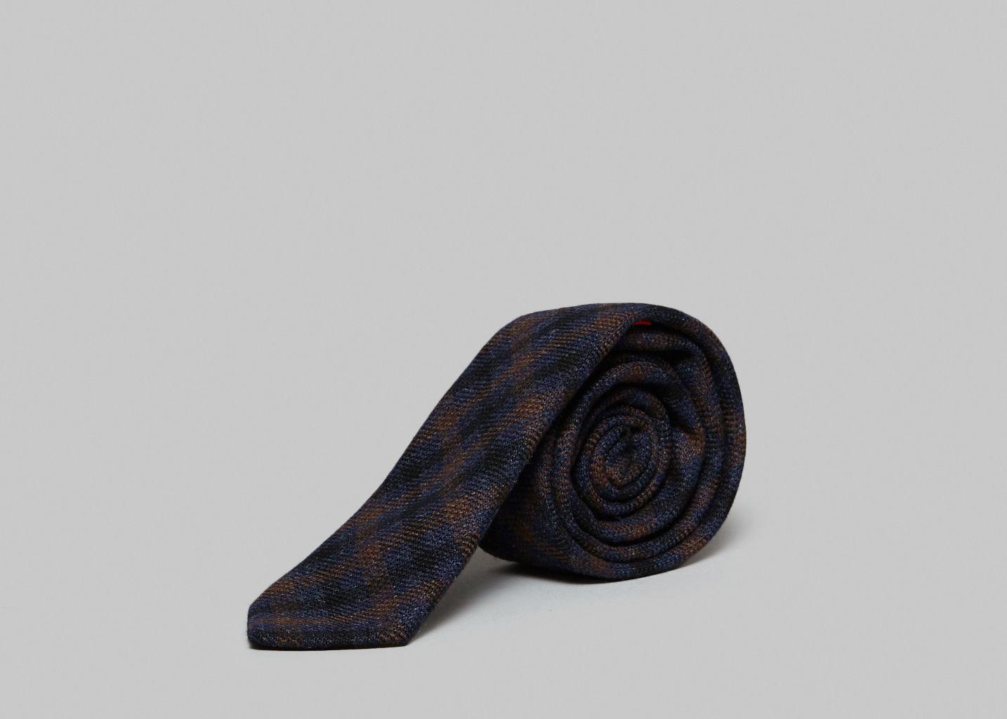 Cravate Vichy - Cinabre