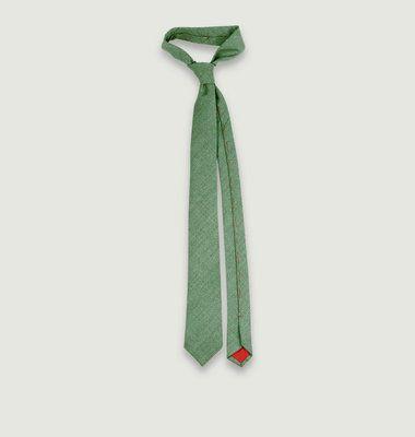 Cravate en Laine Anglaise et Soie