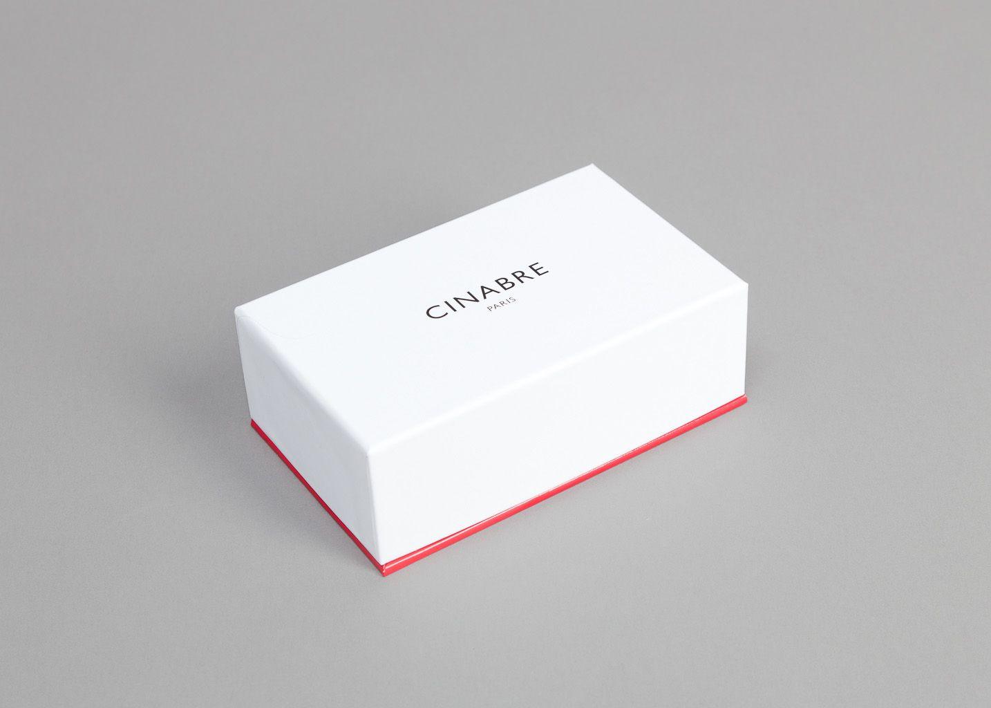 Cravate Cachemire Carbone - Cinabre