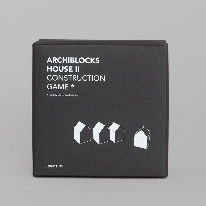 Jeu Archiblocks House II  - cinqpoints