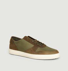 Sneakers Cuir Suédé Et Nylon Gregory