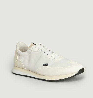 Sneakers en toile recyclée et cuir vegan Runyon