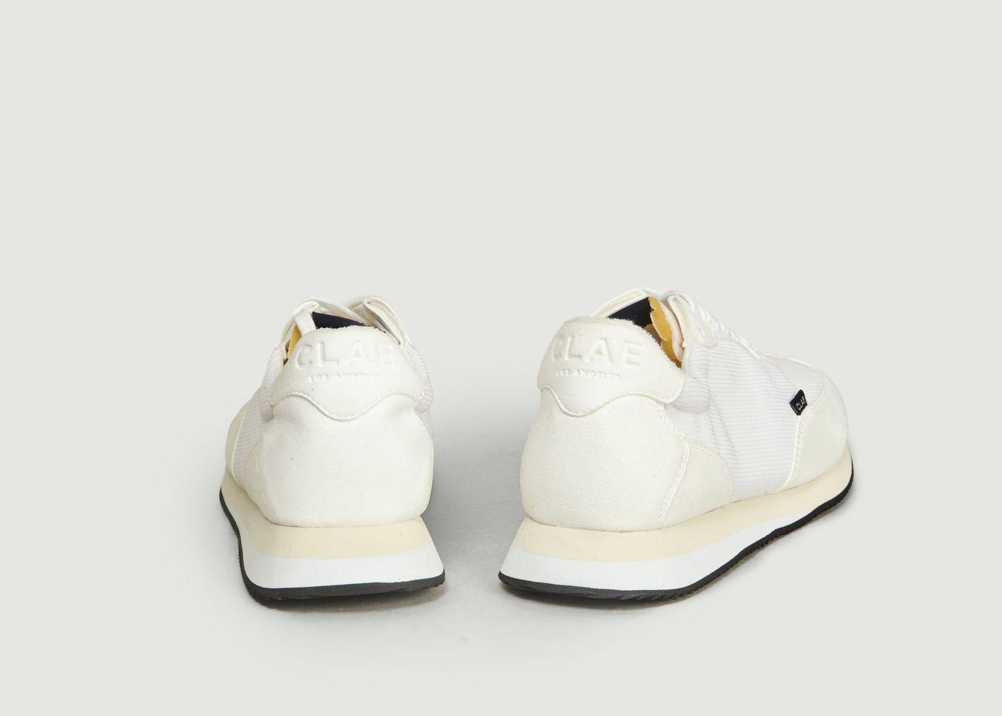 Sneakers en toile recyclée et cuir vegan Runyon - Clae