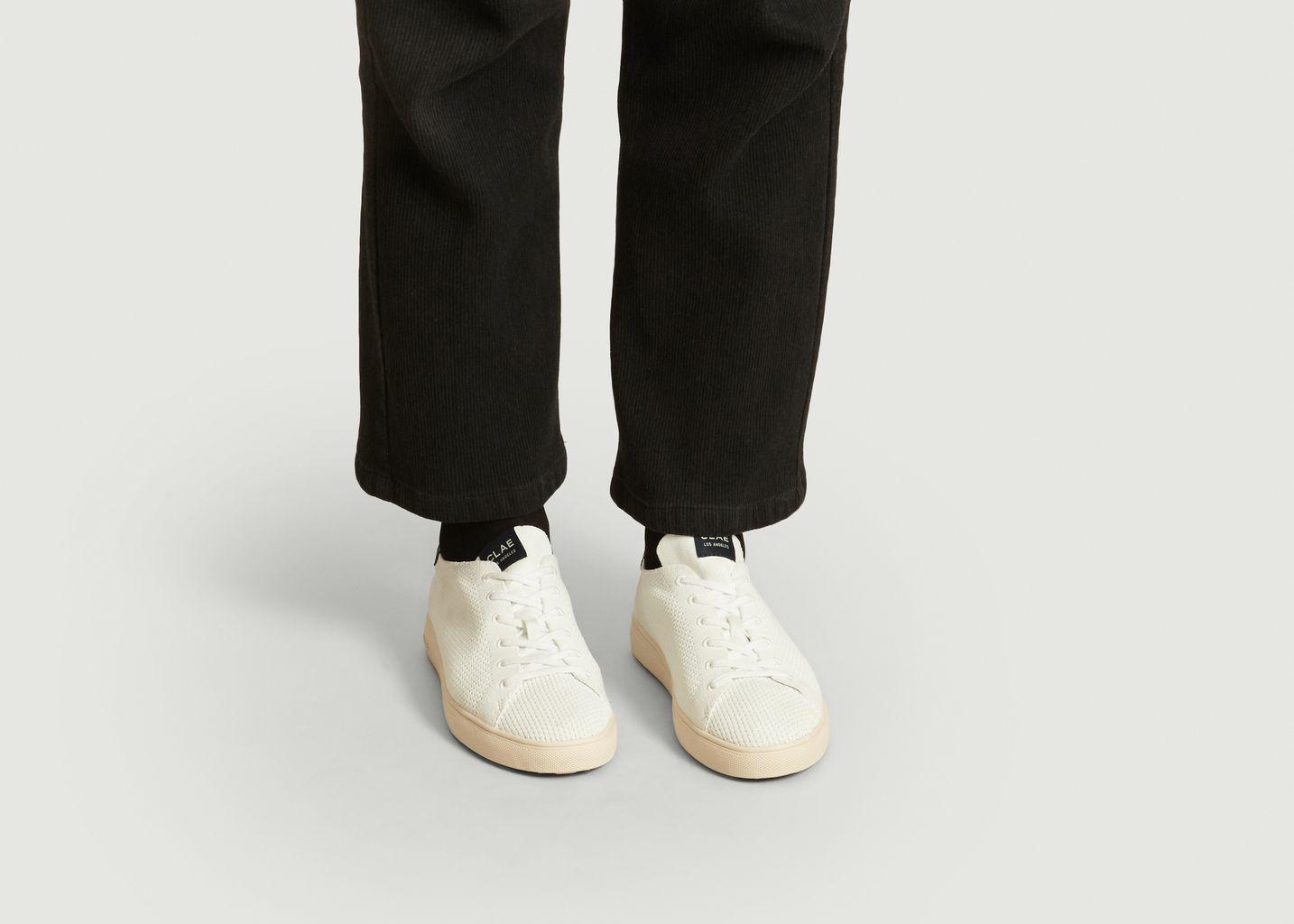 Sneakers en tissu recyclé Bradley - Clae