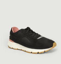 Sneakers en nubuck et tissu Edwin