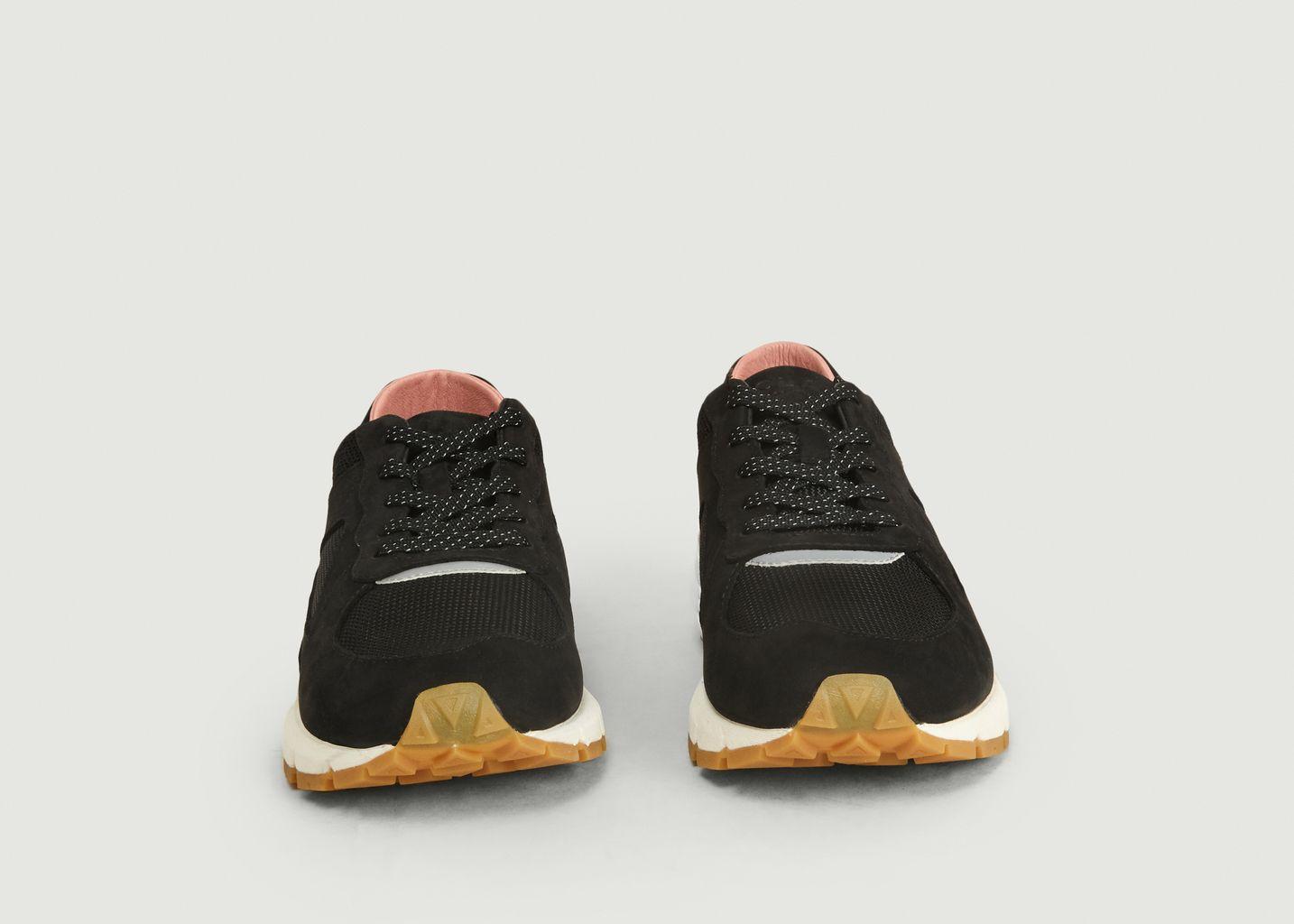 Sneakers en nubuck et tissu Edwin - Clae