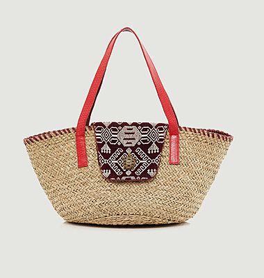Grand sac panier Zoe Timor