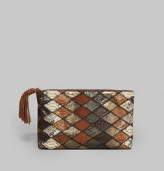 Andy Patchwork Clutch