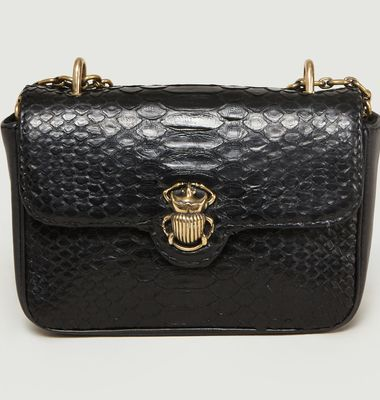 Ava Python Handbag