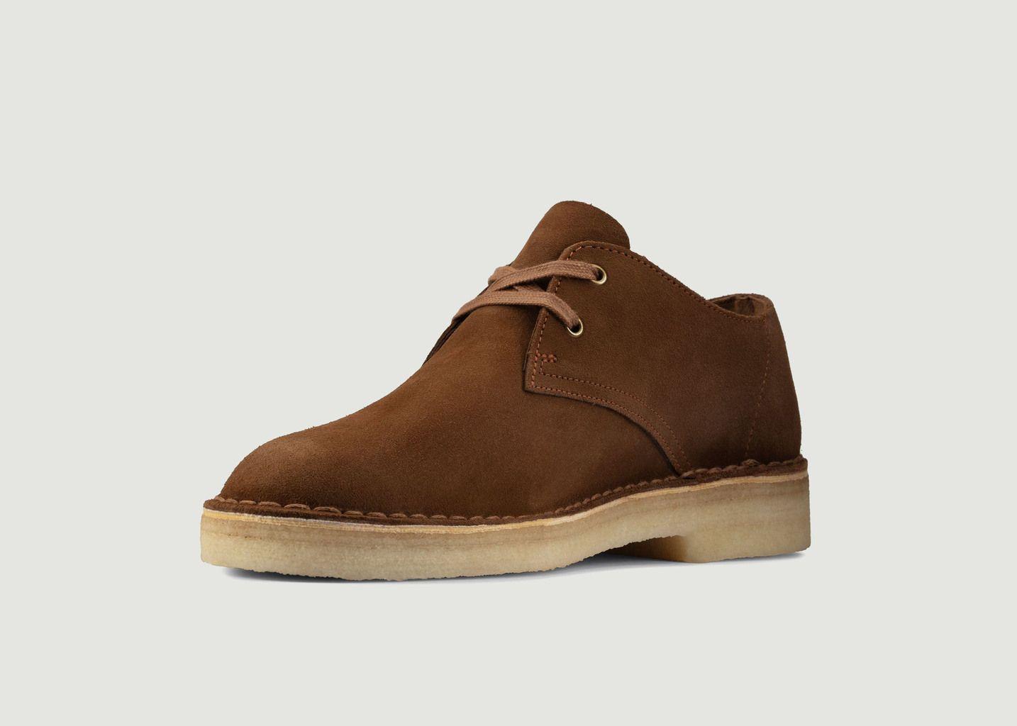 Desert boots en cuir suédé Khan - Clarks Originals