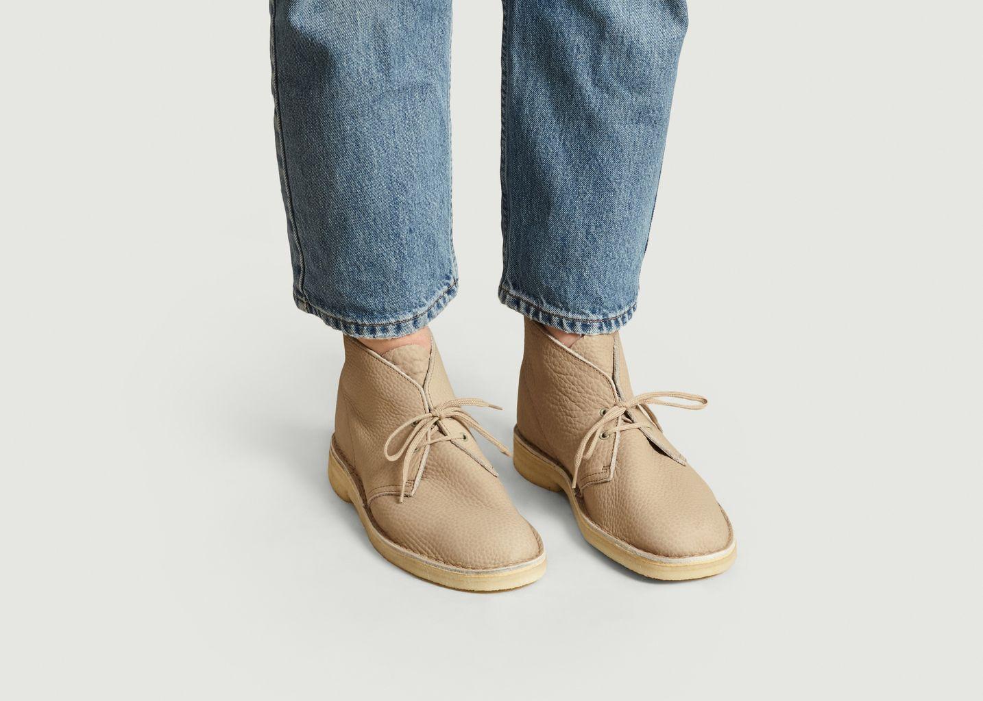 Desert boots cuir grainé - Clarks Originals