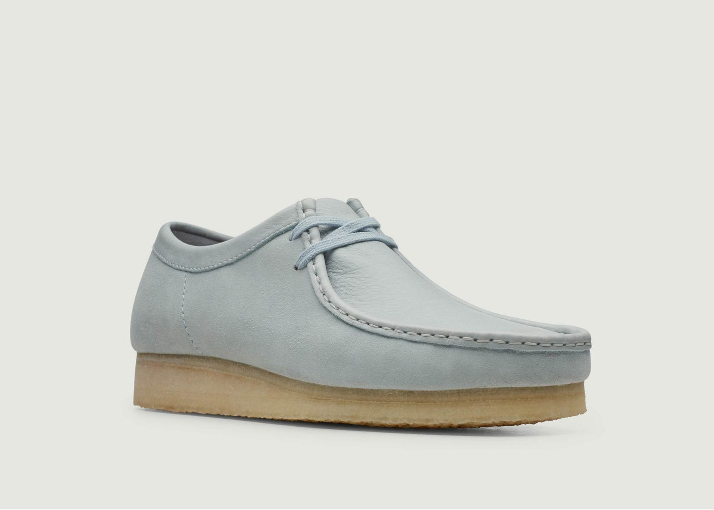 Mocassins en cuir suédé Wallabee - Clarks Originals