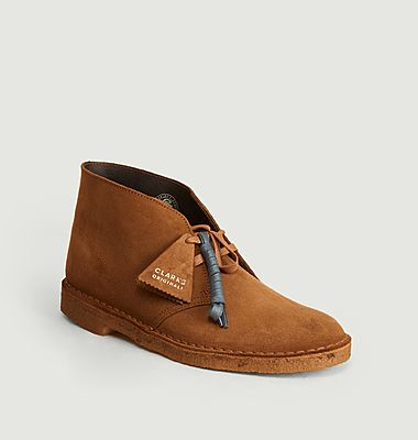 Desert boots cola suede