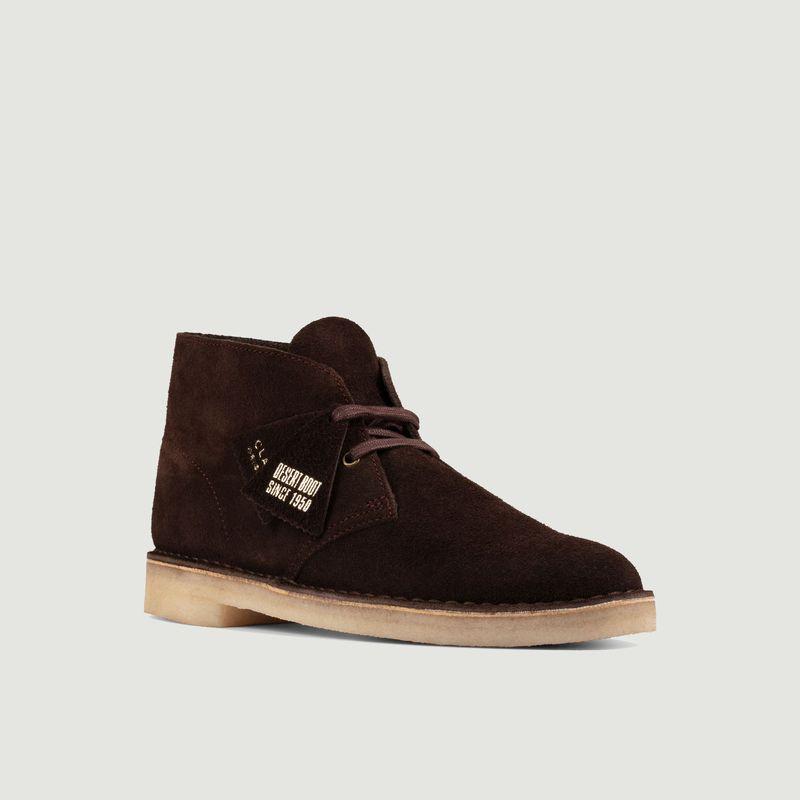 Desert boots chocolate suede - Clarks Originals
