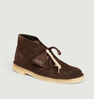 Desert boots chocolate suede