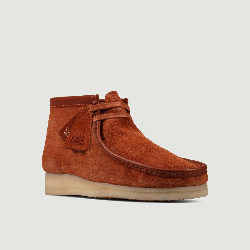Bottines Wallabee suède - Clarks Originals