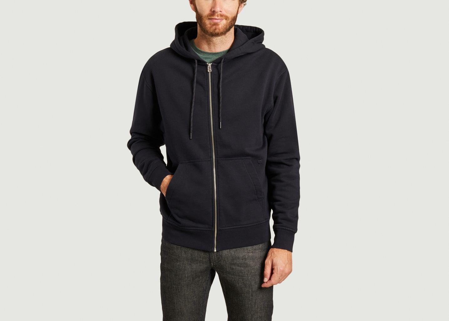Zip hoodie - Closed