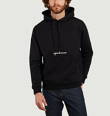 Sweatshirt à capuche avec broderie